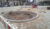 Bauarbeiten Ecke Linden- Ackerstrasse