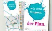 Neuer Stadtplan für Flingern